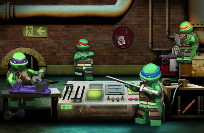 lego ninja turtle games