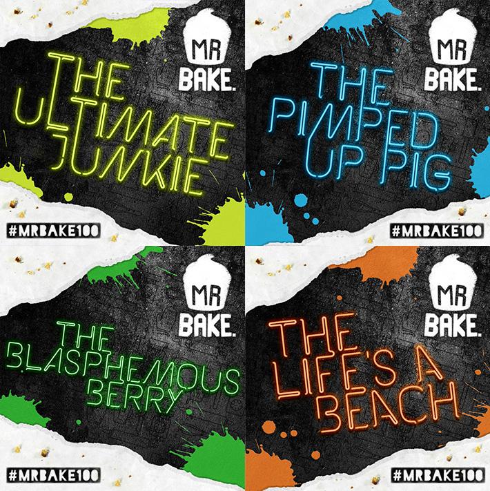 #MrBake100 Flavours