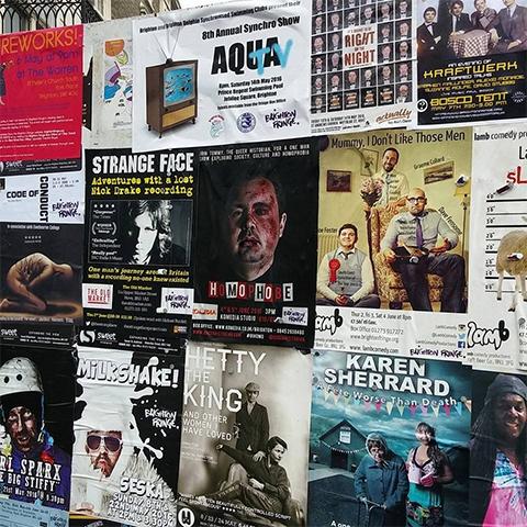 Brighton Fringe Posters
